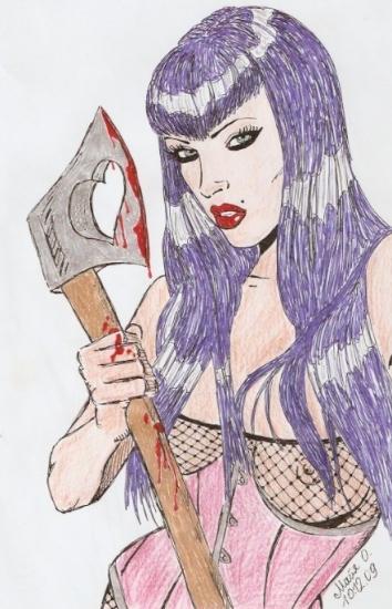 Vampirella by MayaOsina